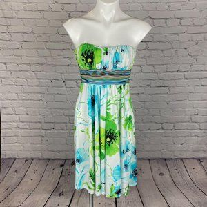 NWT KITTY Sexy Yet Classy Strapless Floral…